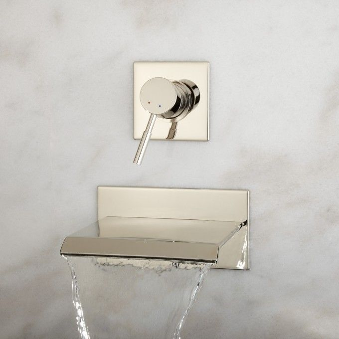 Lavelle Wall Mount Waterfall Tub Faucet Faucet Wall