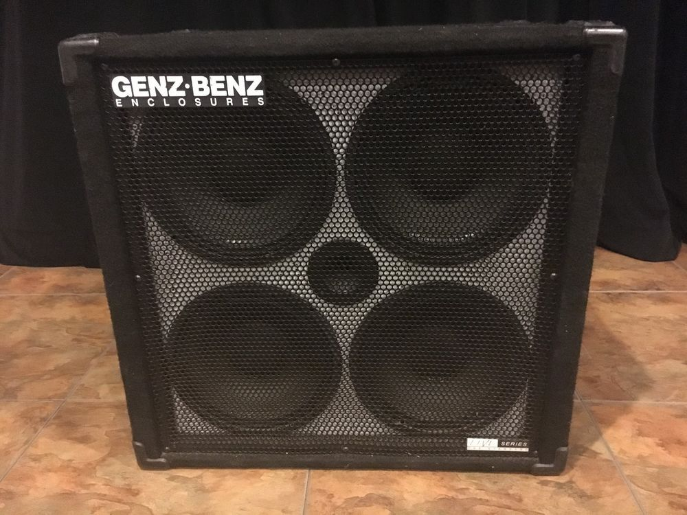 Genz Benz 410 Live Series Ls410t 400w 8 Ohm Ported Electric Bass