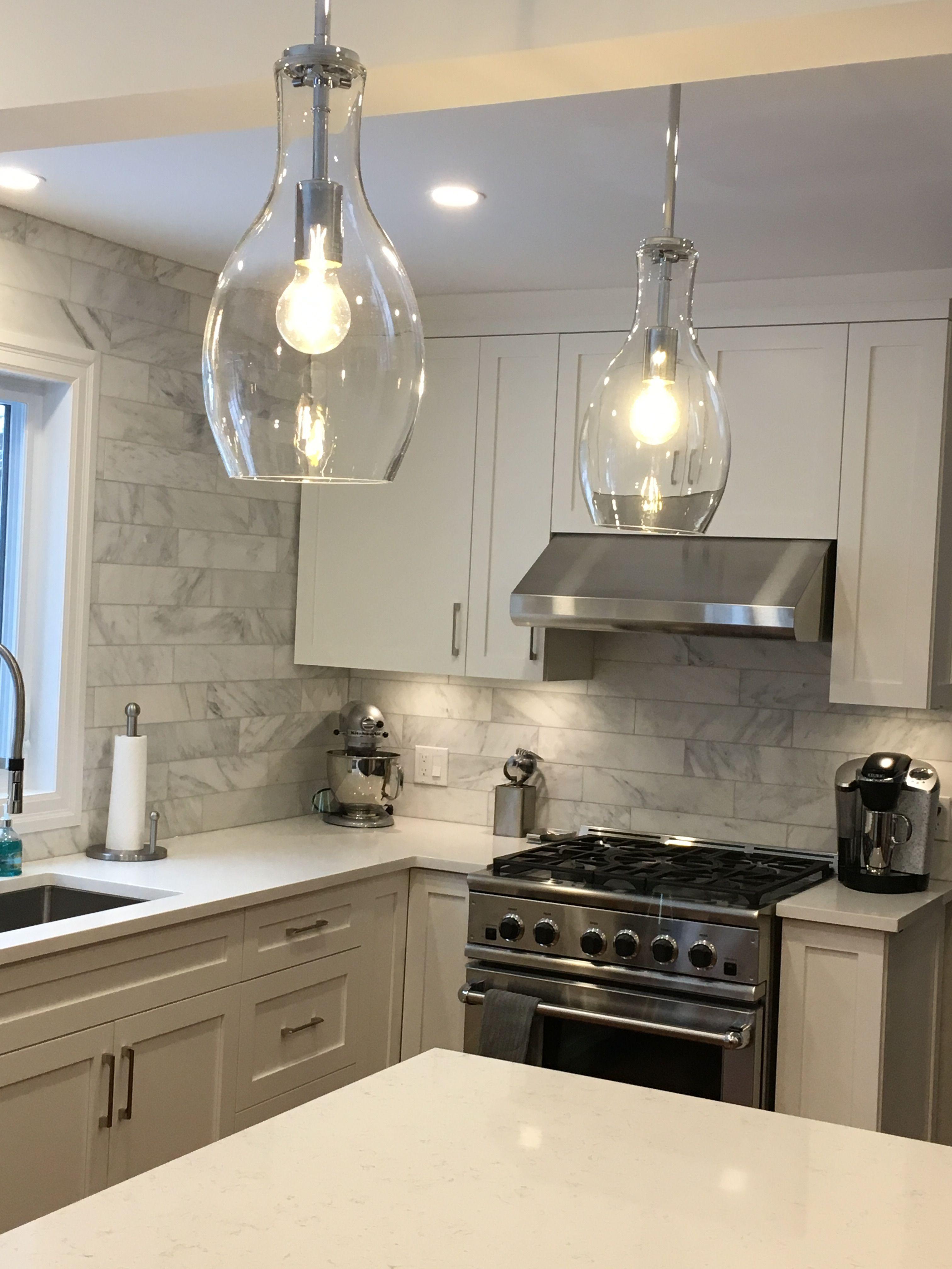 Grey White Kitchens Kitchen Pendant Island Lighting Kichler