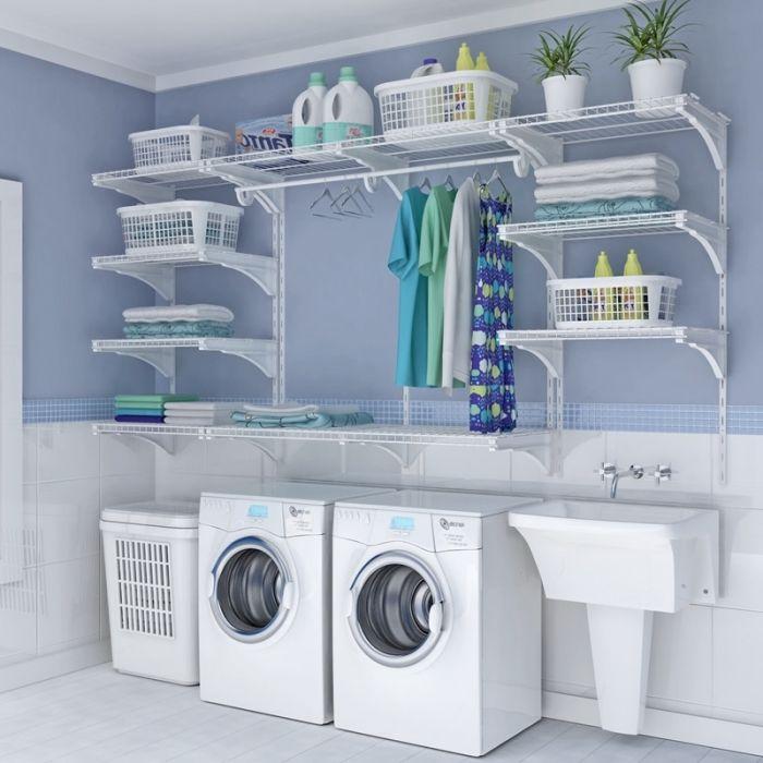 ▷ 1001 + idées pour aménagement et rangement buanderie parfaits #laundryrooms