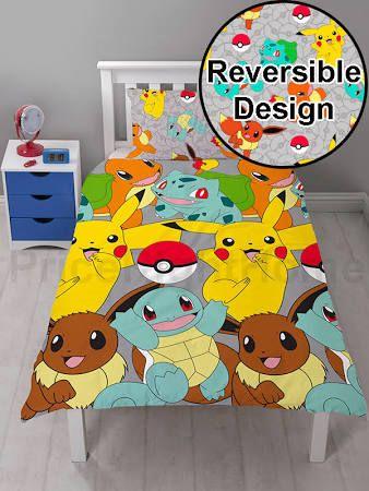 pokemon bedding uk - Google Search