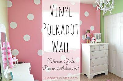 R & R Workshop: Polka Dot Week: Polka Dot Wall Inspiration