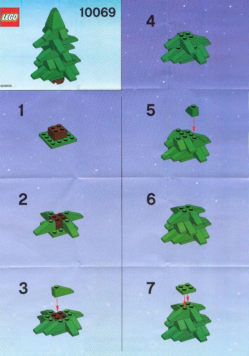 Lego Christmas Tree Instructions Lego Pinterest Lego Christmas