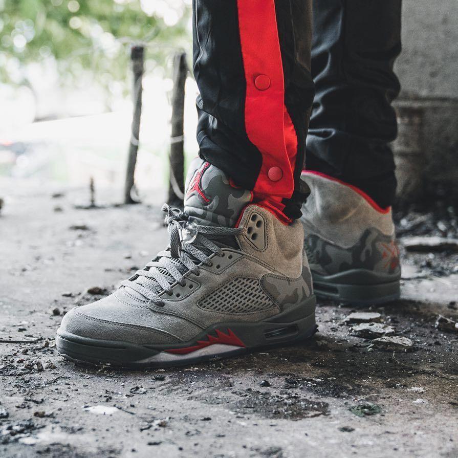 """Air Jordan 5 """"Reflective Camo"""" http//airjordangiveaways"""