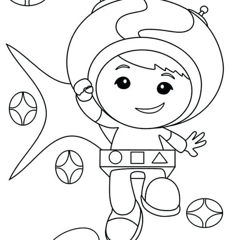 Oomizoomi Team Umizoomi Coloring Pages Cool Coloring Pages