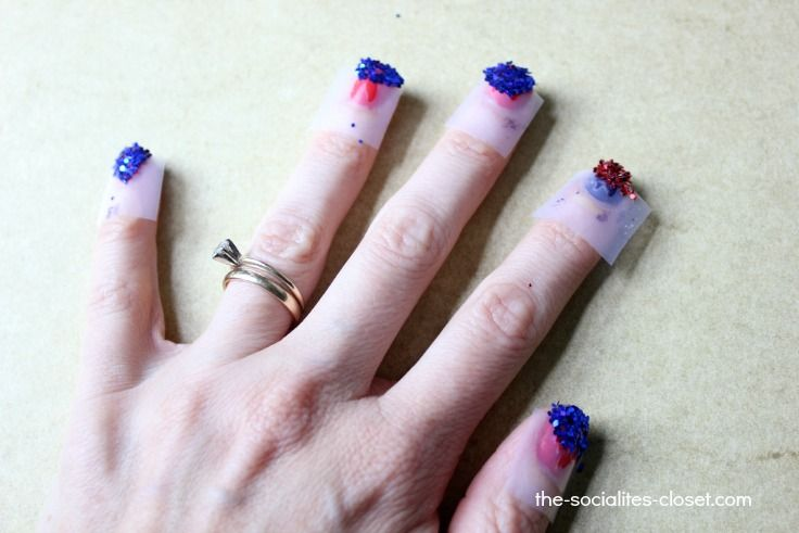 Patriotic nail designs diy - Patriotic Nail Designs Diy Nails Pinterest