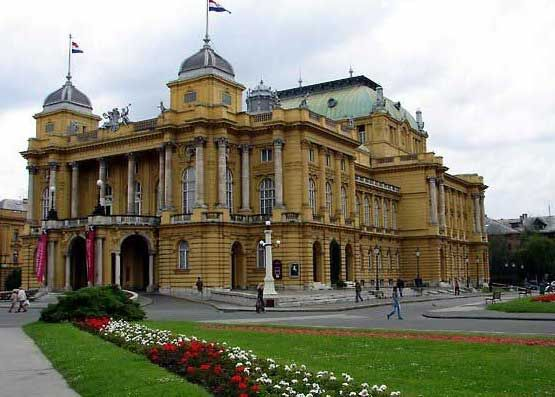 Hrvatsko Narodno Kazaliste Zagreb Hrvatska Edificios