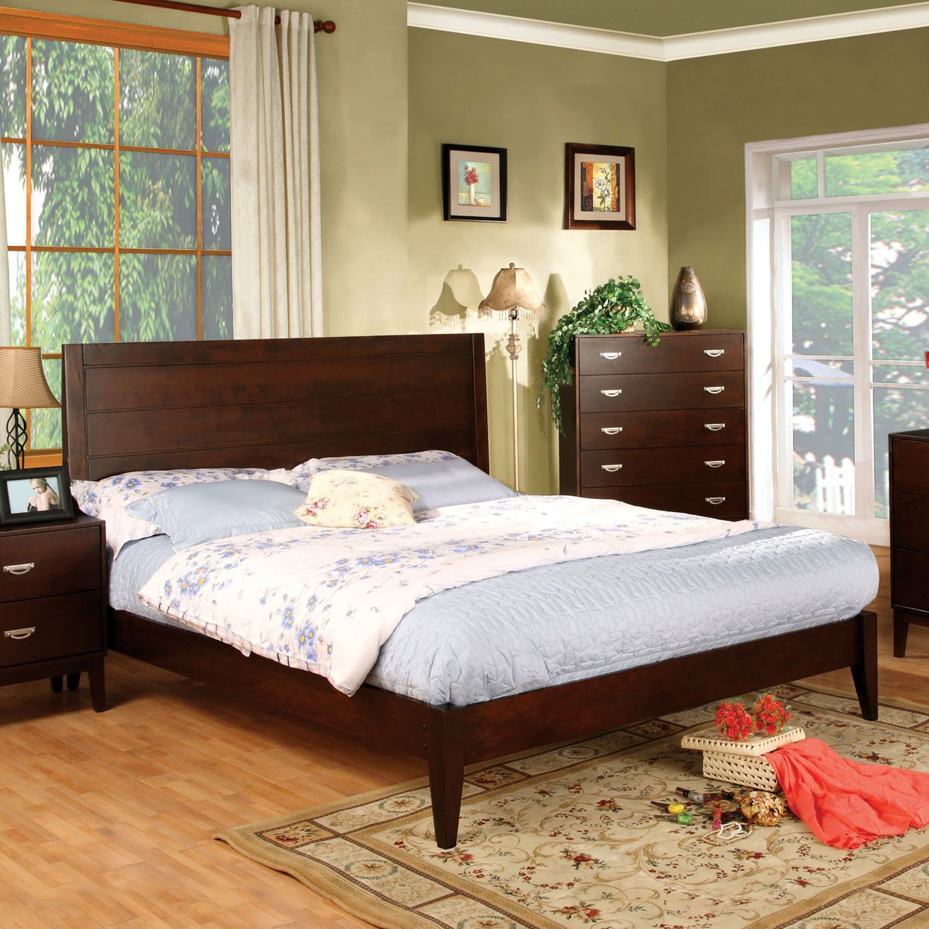 Best Myia Standard Bed Furniture Bed Design Queen Platform Bed 400 x 300