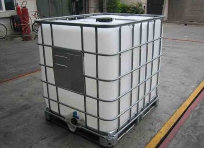 ibc tote 275 gallon 330 gallon food grade water storage rain - Water Storage Barrels