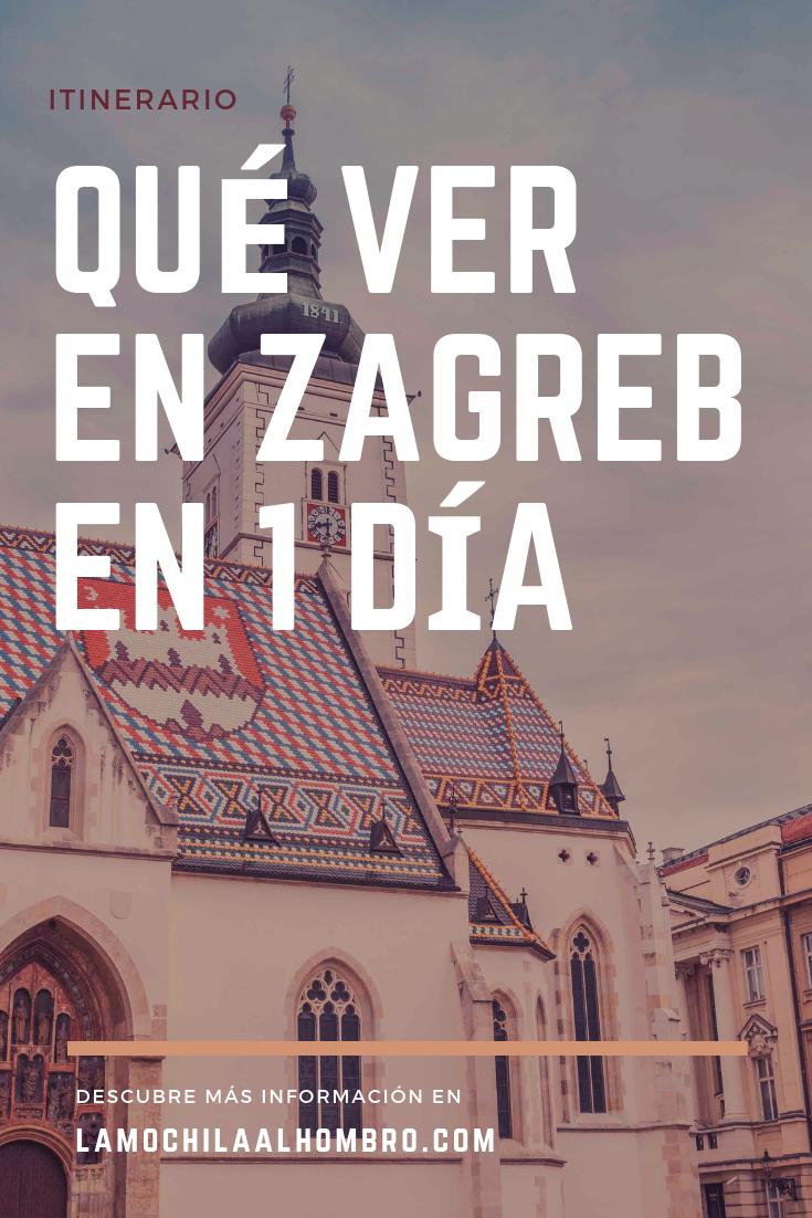 Que Ver En Zagreb En 1 Dia Zagreb Europe Eastern Europe