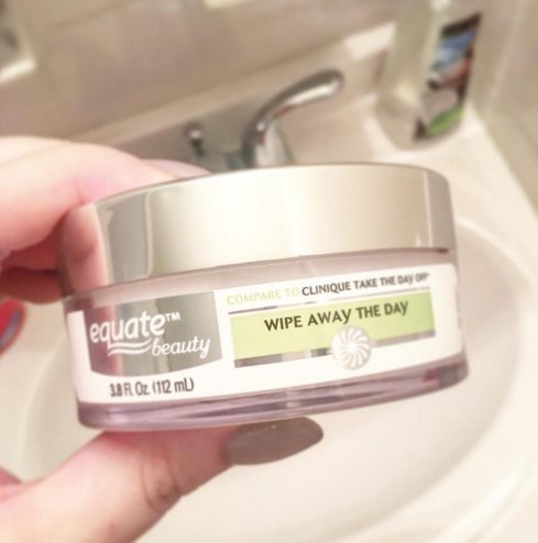 New Walmart Equate Dupe for Clinique Take the Day Off