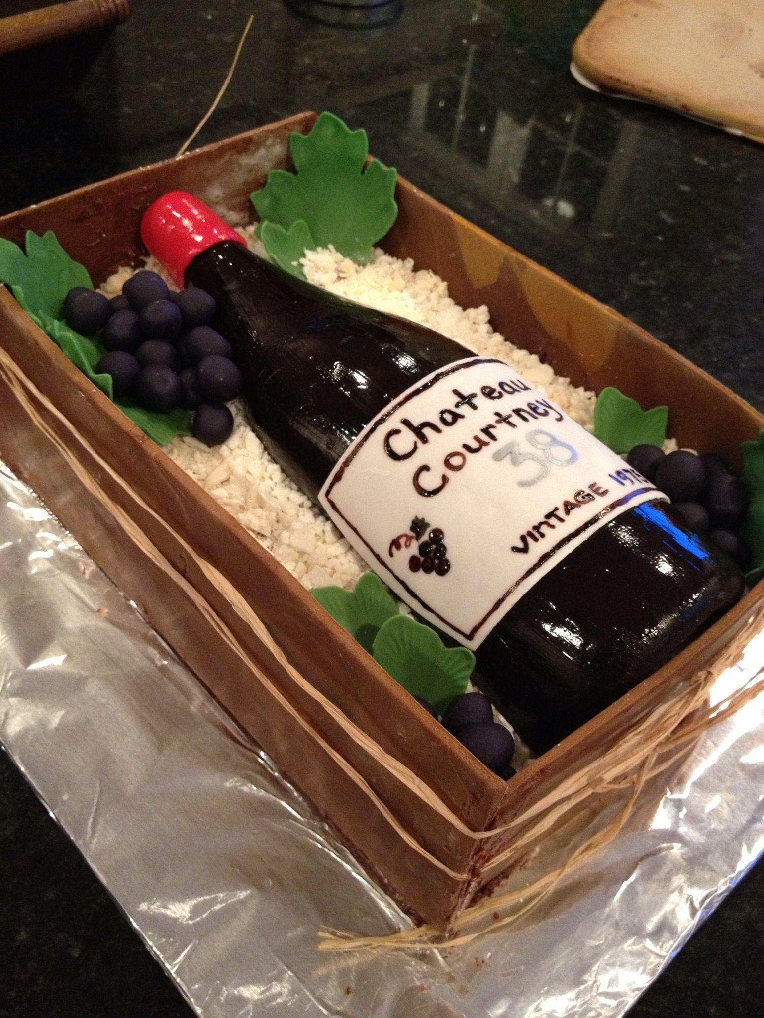 My First Wine Bottle Cake Cakes Bottle Cake Wine