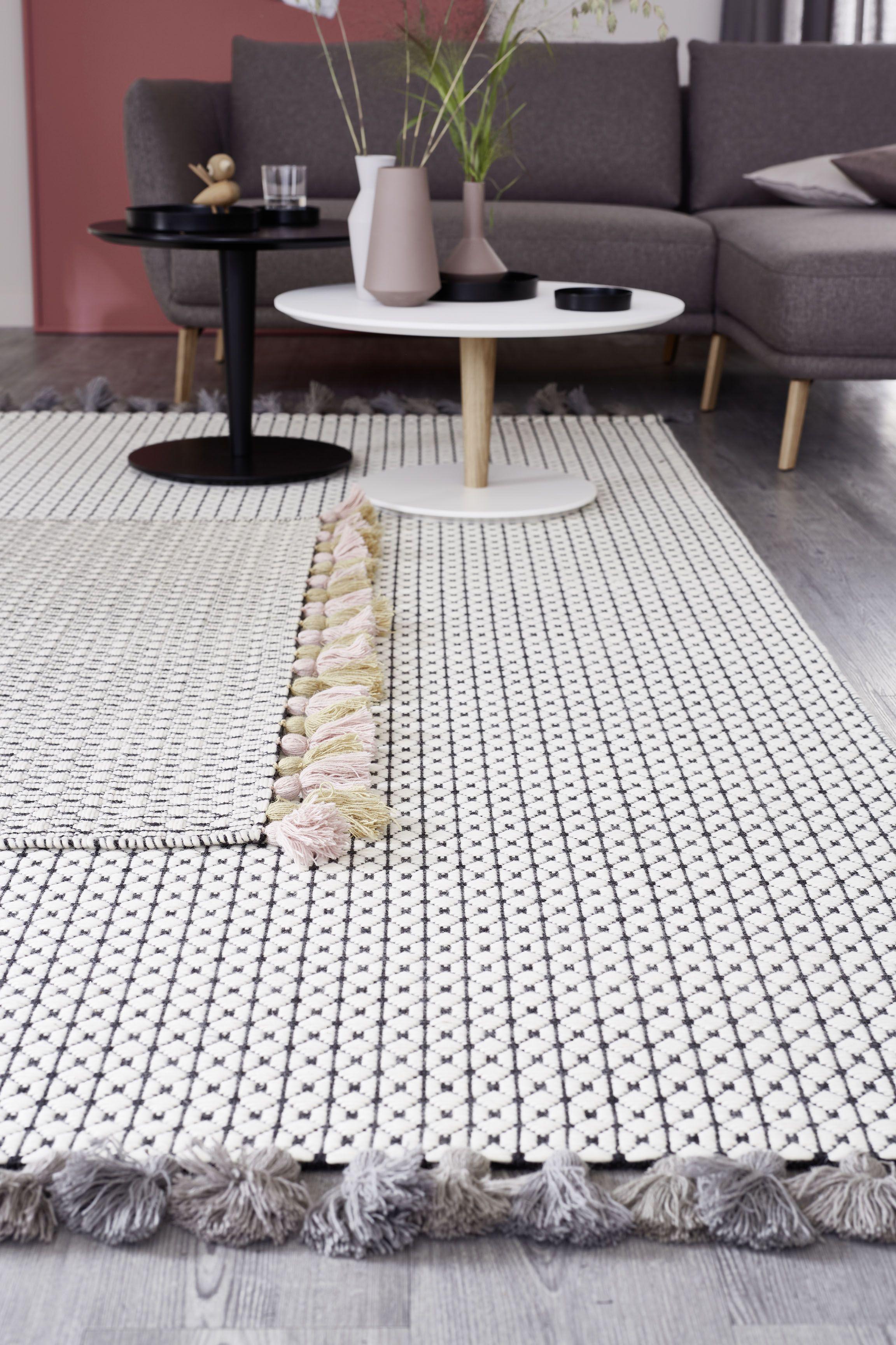 SchÖner Wohnen Kollektion Teppich Insula Teppich Dekor Teppich Schwarz Weiß