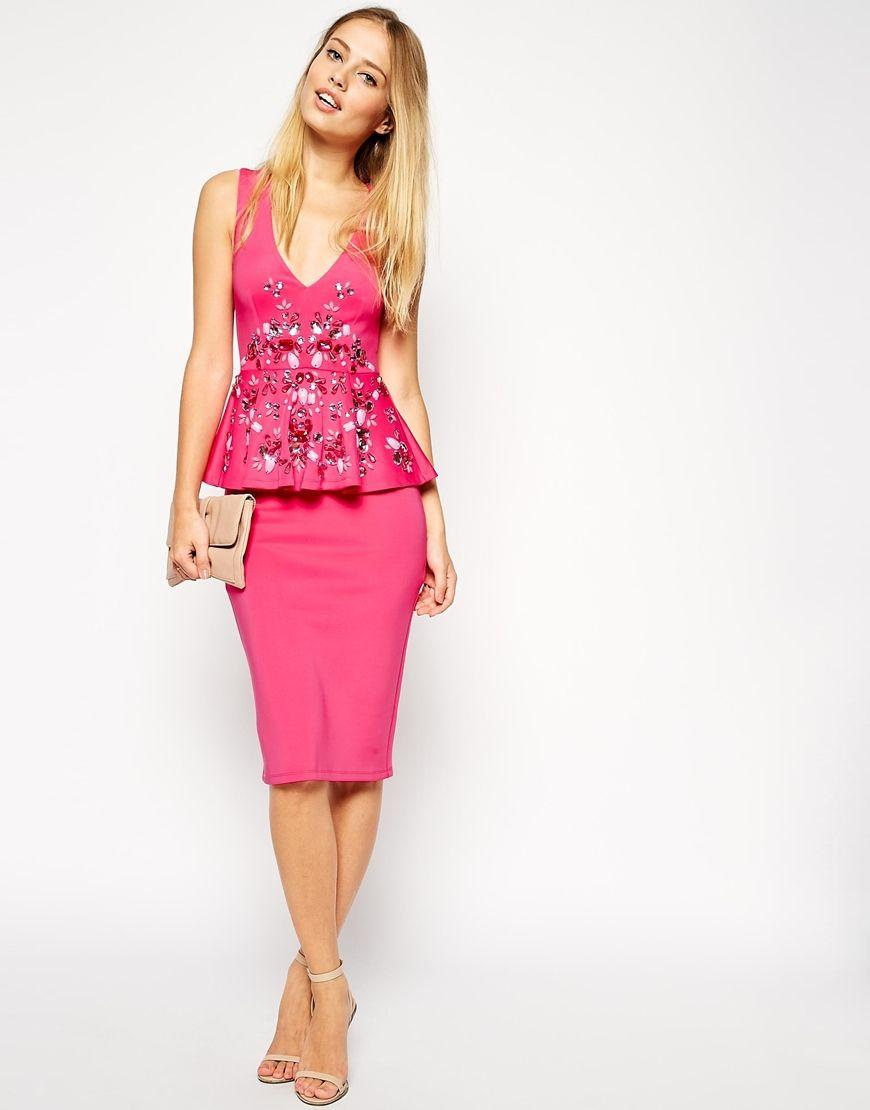 Short Pink Cocktail Dresses - Ocodea.com