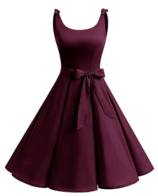 Wunderschönes 50er Jahre Vintage Mode Rockabilly Pin Up Kleid