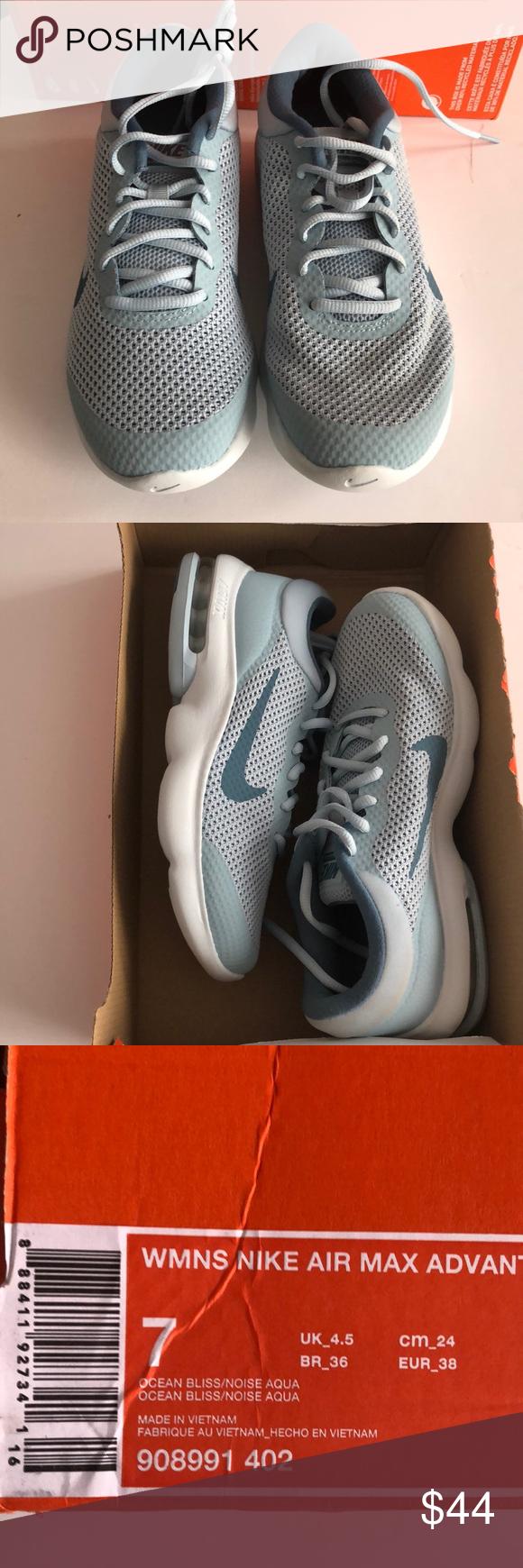 9e26ea7f1e8d5d Women s Nike Air Max advantage Women s Nike air max advantage size 7 color  light blue style   908991 402 Nike Shoes Athletic Shoes