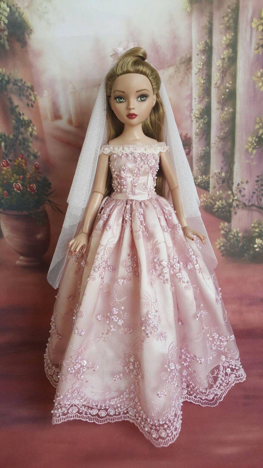 Wedding gown for Ellowyne Wilde16 inch Tonner doll-P50 | eBay ...
