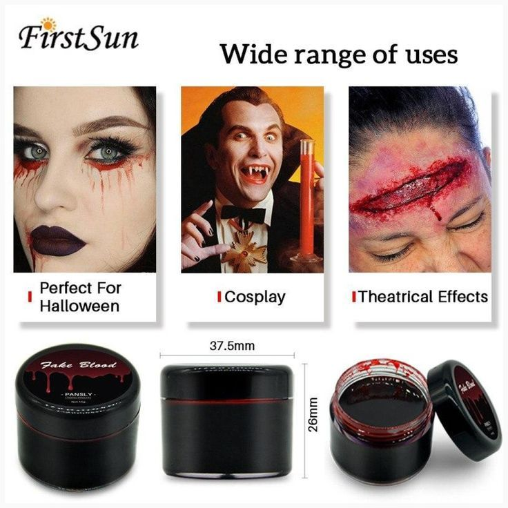 Halloween Make Up DIY Cos Halloween Make Up Ultra-realistische Fake Blood Face Paint Simulation des menschlichen Vampirs auf Requisiten Festival Party Supplies   - Halloween Cosplay -