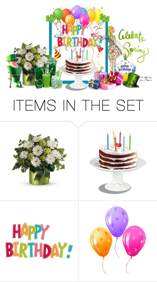 """""""HAPPY MARCH BIRTHDAYS, Sweet Friends !!"""" by fashiongirl-26 ❤ liked on Polyvore featuring art"""