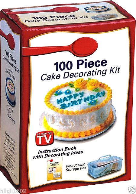 Nib Betty Crocker 100 Piece Cake Decorating Kit Bettycrocker