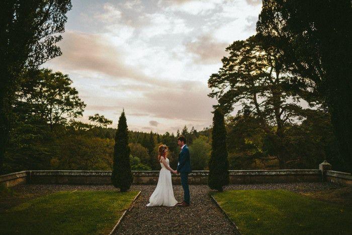 Thomas Rebecca Parkanaur Manor House Wedding