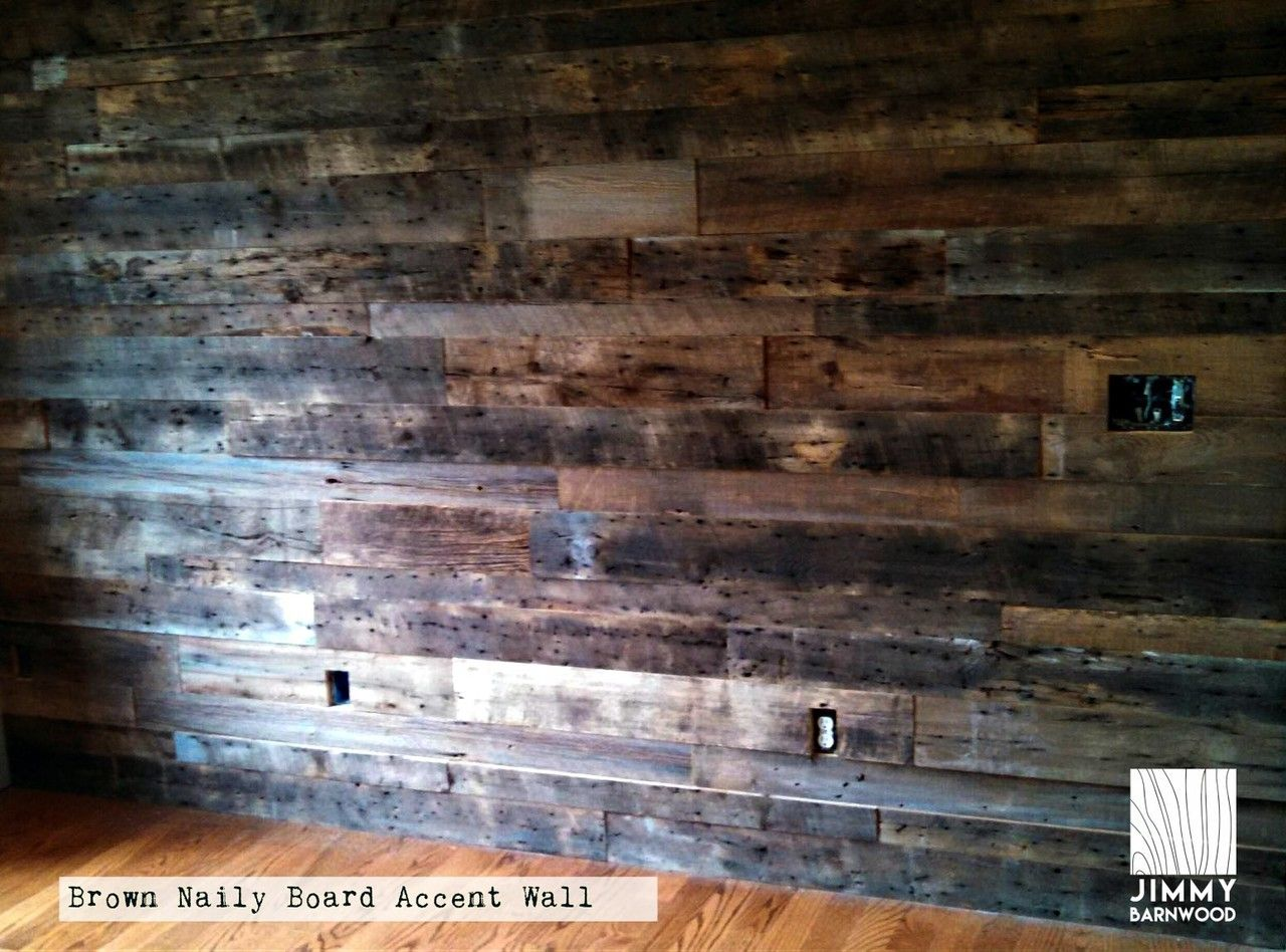 Naily Board Reclaimed Wood Wall Planks In 2019 Wood Wall