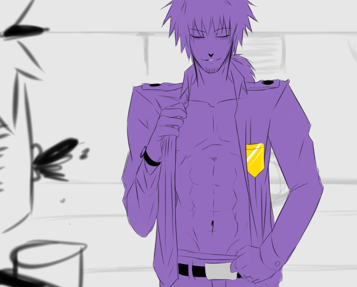 Phone guy x purple guy fanfic lemon - I Don T Know Which Night Guard Is There But I Do Know That Purple