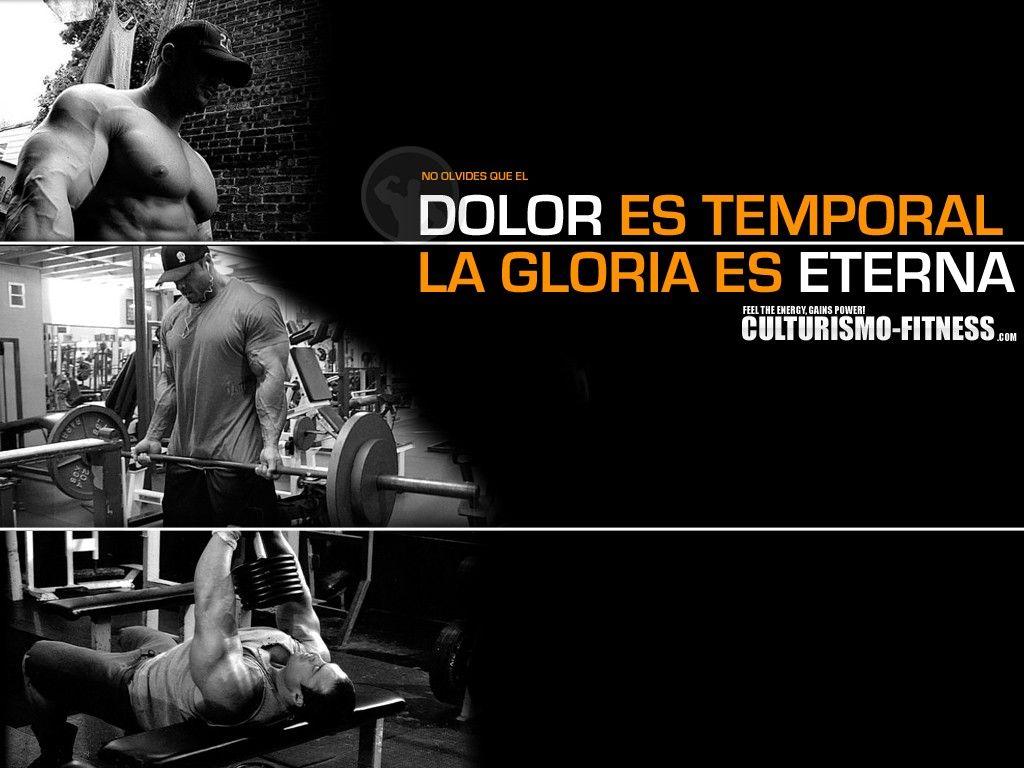 Algunos wallpapers motivaci n gym algun frases sobre for Deporte gym