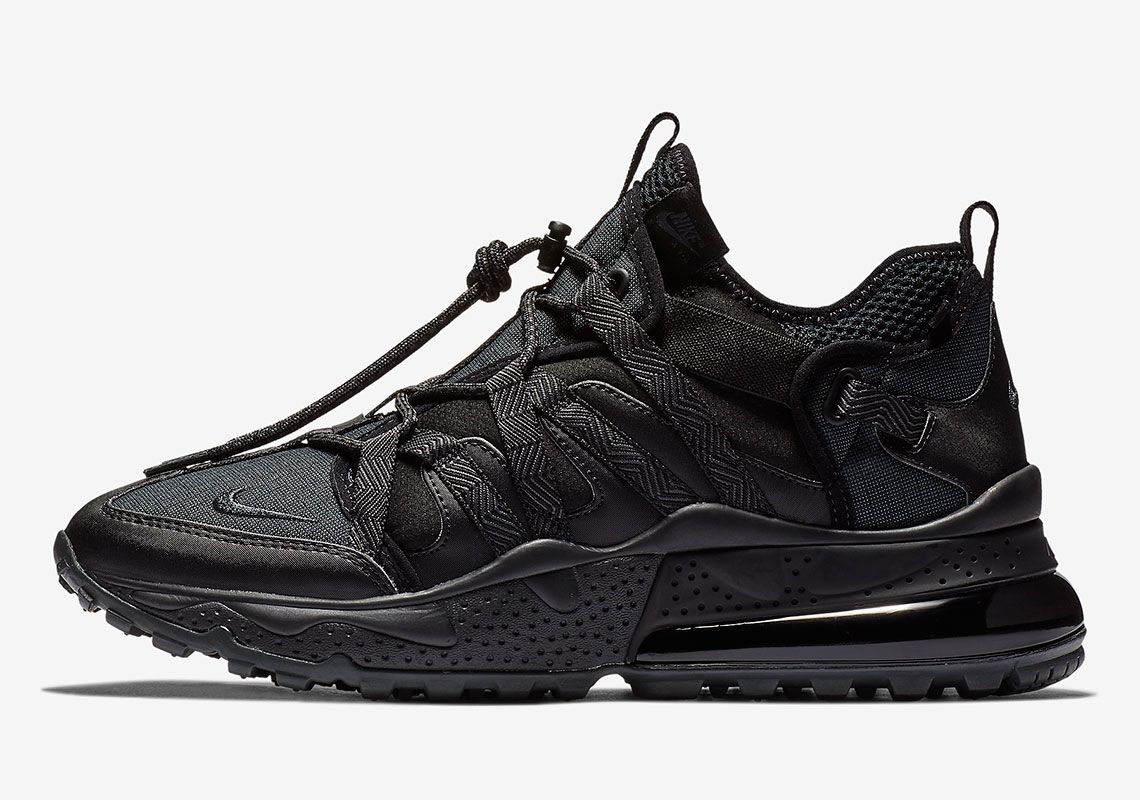 Nike Air Max 270 Bowfin Triple Black Available Now