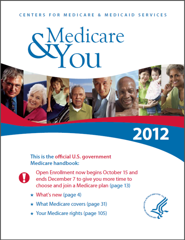 Medicare & You 2012 good for mom and dad (With images