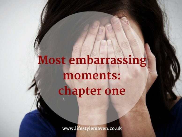 Most embarrassing moments- chapter one