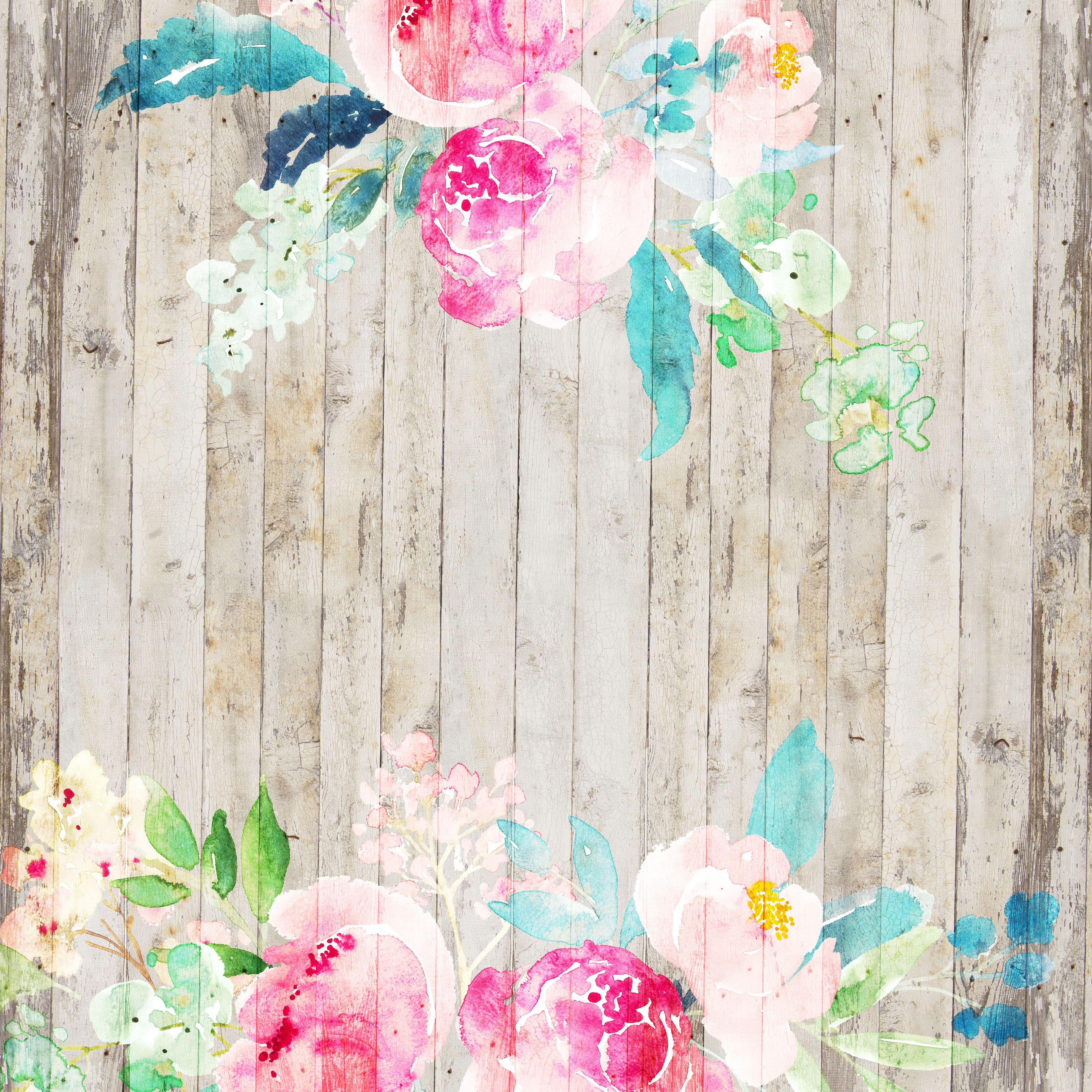 Free Peony Digital Scrapbooking Paper Floral Background Scrapbook Flowers Digital Paper Free