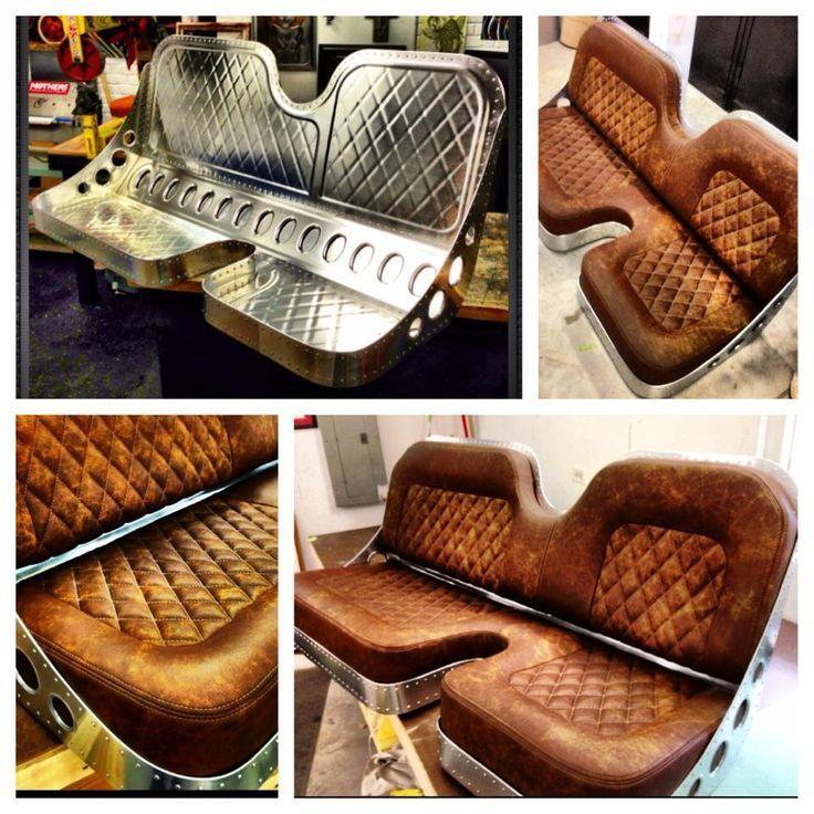 Jamey Jordan At Hand Made Seat Co.