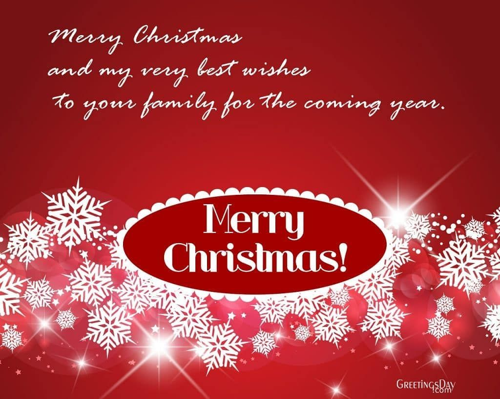 Merry Christmas and a Happy New Year! May this Christmas