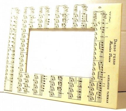 mod podge picture frame | Holiday Ideas, Decor, and DIY | Pinterest ...