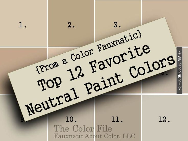 Brilliant! - Paint Color Palettes From a Color Fauxnatic Top 12 Favorite Neutral Paint Colors - The Color File #Neutral #Paint Sherwin-Williams | Check out more ideas for Paint Color Palettes at DECOPINS.COM | #paintcolorpalettes #paint #color #colorpalettes #palettes #bedrooms #bathroom #bathrooms #homedecor #beds #interiordesign #home #homedecoration #design