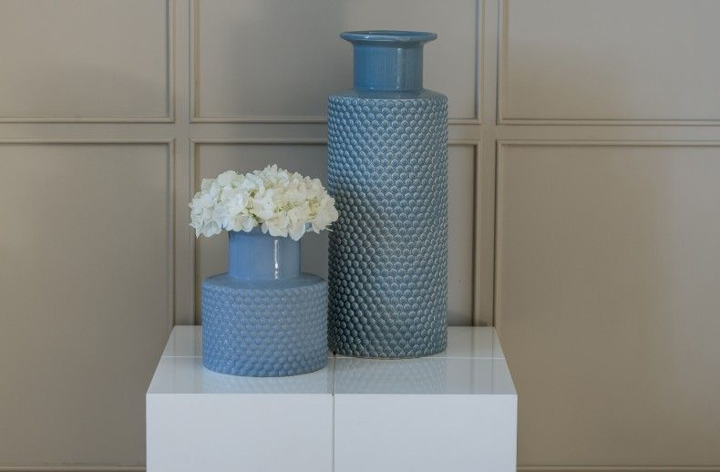Small Bubble Vase Duck Egg Blue Kelly Hoppen London Pinterest