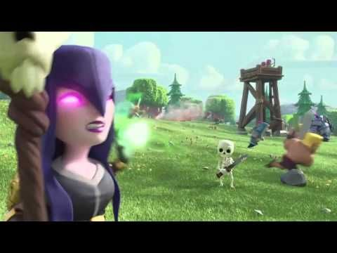 Clash Of Clans - Larry - NEW TV Commercial (HD) Witch