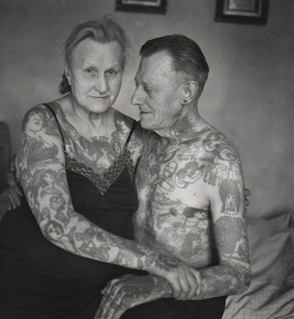 Photo of They tattooed when young and even after decades do not seem to regret it!