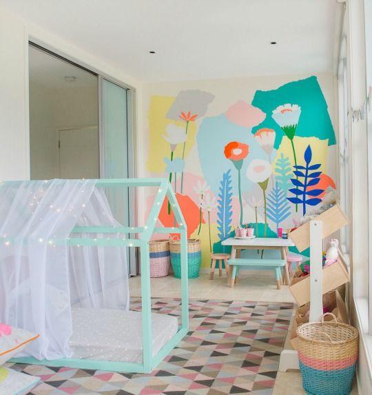 Cama casita 3 casitas pinterest habitaciones - Cama casita infantil ...