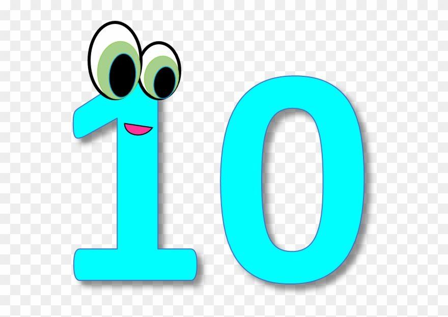 Number 10 Clipart Ten Clipart Png Download Free Clip Art Clip Art Scrapbook Clipart