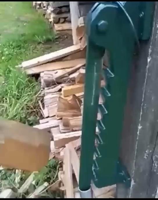 wood fire cutter