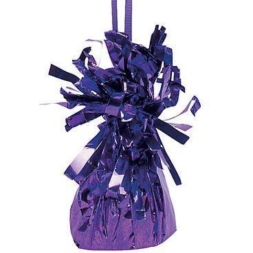 12 Purple Balloon Weights #70/735