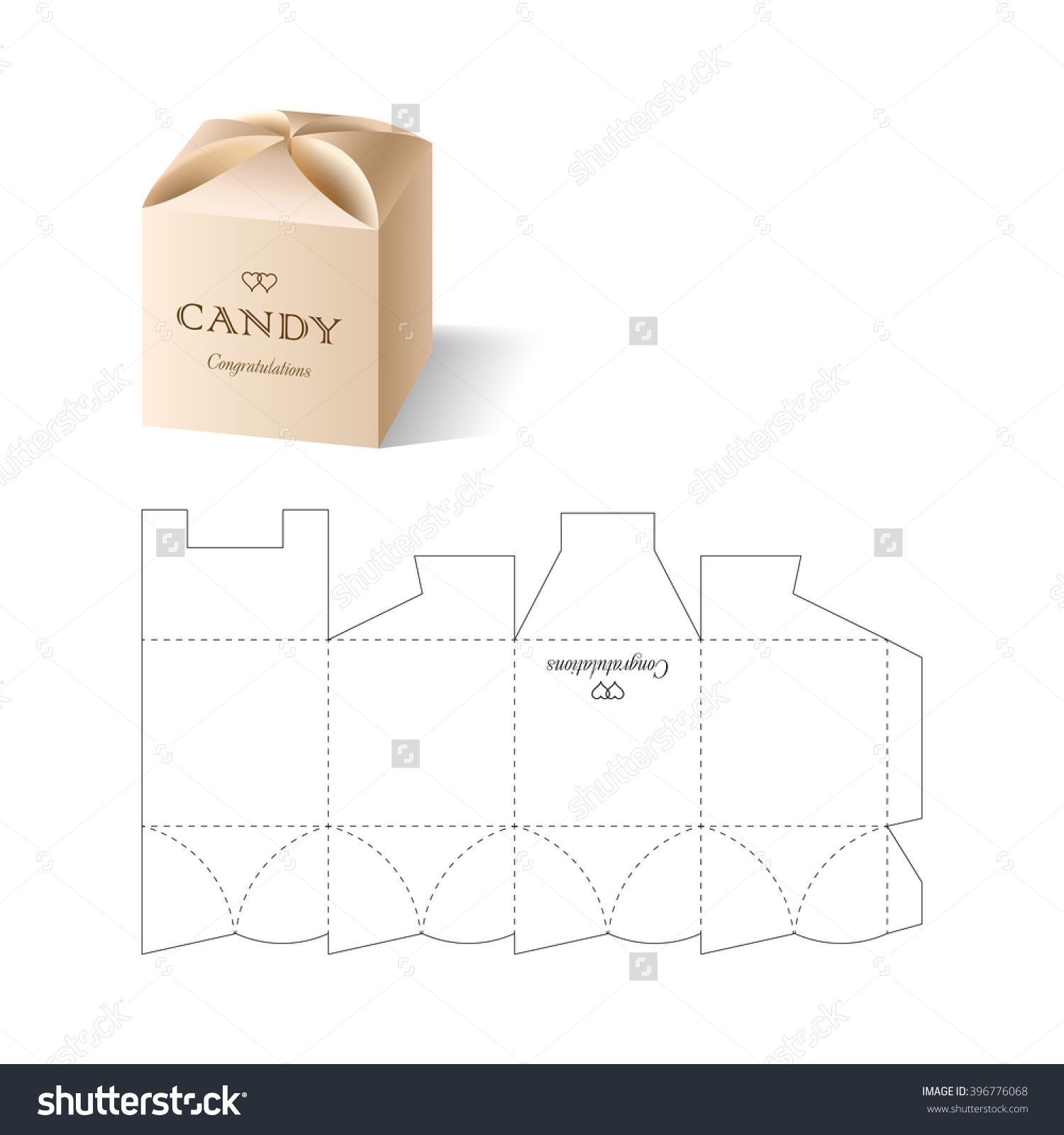 Retail box with blueprint template caixas pinterest retail box retail box with blueprint template malvernweather Image collections