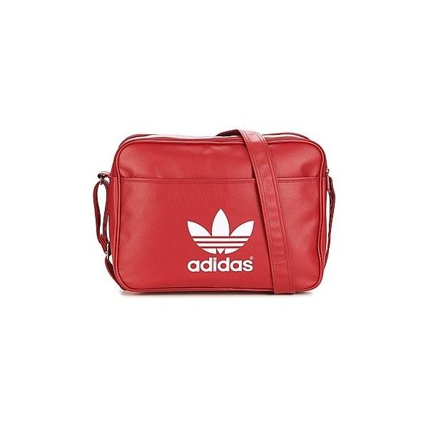8608f6215dd adidas AIRLINER CLASSIC Messenger bag (100 CAD) ❤ liked on Polyvore  featuring bags, messenger bags, messenger bag, red, courier bag, red messenger  bag, ...