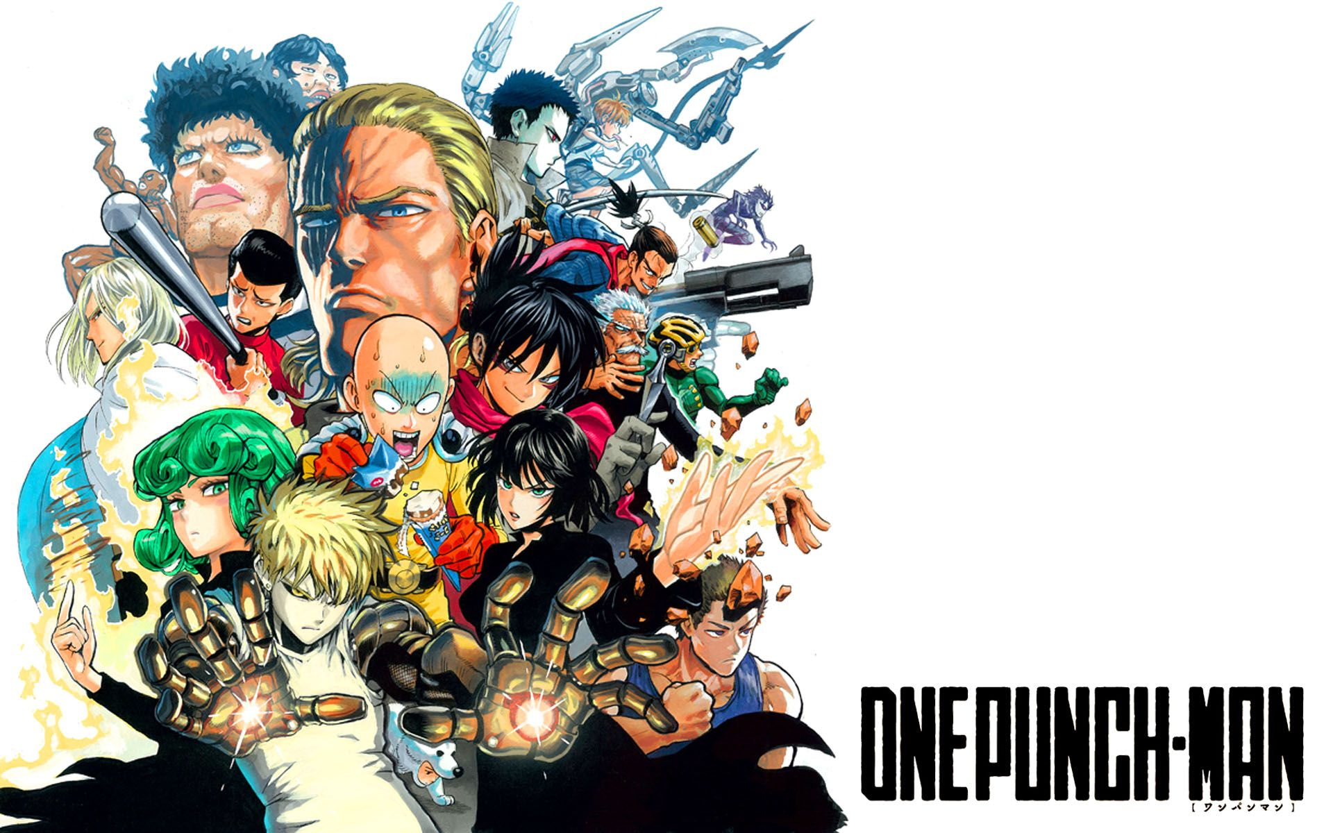Superhero Class One Punch Man Anime Wallpaper HD 2015