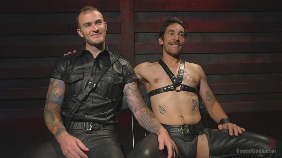 Gay Lyxander Dale Cooper Meets Christian Wilde At Bound Gods