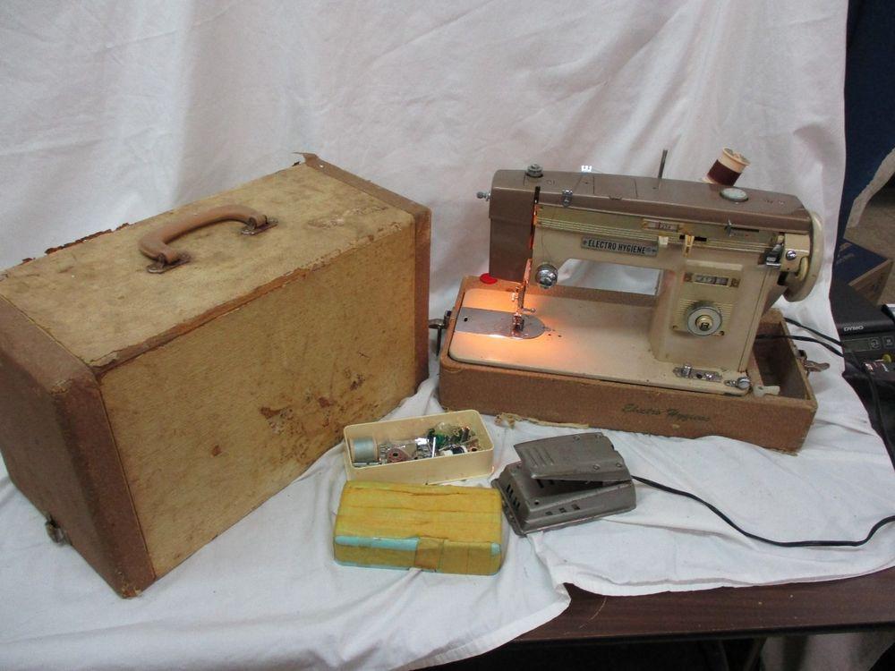Morse Electro Hygiene Model E40 Sewing Machine Vintage Machines Simple Electro Hygiene Sewing Machine