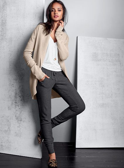 41815dc71a939 Shawl-collar Cardigan Sweater- Love comfy clothes that still look ...