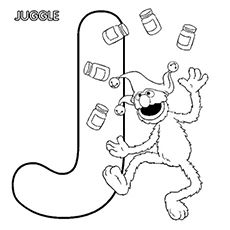 Top 10 Free Printable Letter J Coloring Pages Online Abc Coloring Pages Sesame Street Coloring Pages Alphabet Coloring Pages